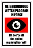 Sąsiad patrol Obraz Stock