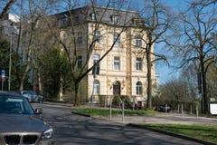 Sąsiedztwa mieszkanie w Aachen obraz royalty free