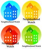 Sąsiedztwo zegarek Zdjęcia Royalty Free