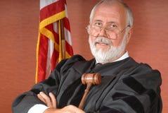 sędzia amerykański Zdjęcie Stock