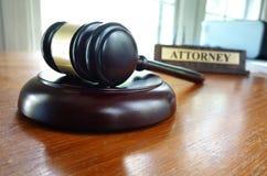 sędzia młoteczka s Zdjęcie Stock