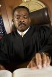 Sędzia Nawiązywać do prawo książka Fotografia Royalty Free
