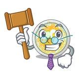 Sędziego naengmyeon w kształt kreskówce ilustracji