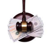 Sędziego pieniądze i Zdjęcia Royalty Free