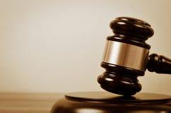 Sędziego prawo I sprawiedliwość symbol obrazy stock