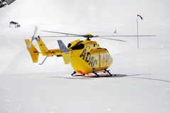 Słóżba ratownicza Bawarscy Alps Zdjęcia Royalty Free