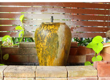 Słój fontanna jest piękna w Thailand Zdjęcie Stock