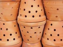 Słój puszkuje wazę Obrazy Royalty Free