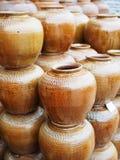 Słój puszkuje wazę Obrazy Stock