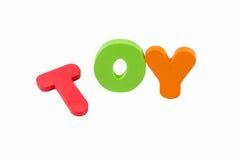 Słów zabawka' Obraz Stock