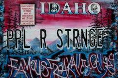 Idaho PPL R STRNGE Obrazy Stock