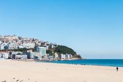 Sławna i piękna plaża Zdjęcia Royalty Free