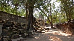Sławna khmer świątynia, Cambodia zbiory wideo