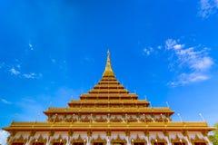 Sławna pagoda w świątyni przy Tajlandia obrazy stock