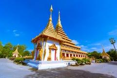 Sławna pagoda w świątyni przy Tajlandia zdjęcia royalty free