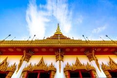 Sławna pagoda w świątyni przy Tajlandia obrazy royalty free