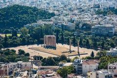 Sławna Romańska agora, Ateny, Attica, Grecja zdjęcie royalty free