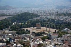 Sławna Romańska agora, Ateny, Attica, Grecja obraz royalty free