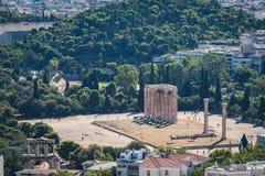 Sławna Romańska agora, Ateny, Attica, Grecja zdjęcie stock