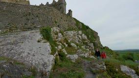 Sławna skała Cashel w Irlandia zdjęcie wideo