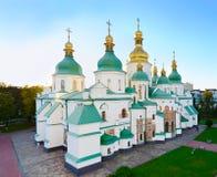 Sławna St Sophia katedra Ukraina zdjęcie stock