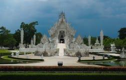 Sławna tajlandzka świątynia w Chaingrai, Rong Khun Fotografia Royalty Free