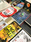 Sławne literatur angielskich powieści Dla sprzedaży W Bibliotecznym Książkowym sklepie Obraz Royalty Free