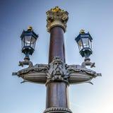 Sławne rzeźby Amsterdam centrum miasta Generał kształtuje teren widok miasto zabytki & sztuka protestuje Zdjęcia Stock