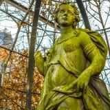 Sławne rzeźby Amsterdam centrum miasta Generał kształtuje teren widok miasto zabytki & sztuka protestuje Zdjęcia Royalty Free