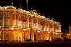 sławnego ermitażu muzealna pałac ru stan zima fotografia royalty free