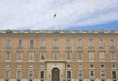 sławnego pałac królewscy szwedzi zdjęcie stock