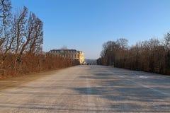 Sławni budynki i architektura Wiedeń w Austria Europa obraz royalty free