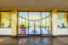 Sławni IG farben dom, poprzedni używać USA ręka jak lokują Fotografia Royalty Free