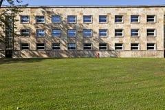 Sławni IG farben dom, poprzedni używać USA ręka jak lokują Zdjęcia Royalty Free