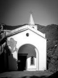 Sławni kościół Riomaggiore, Włochy Zdjęcia Stock