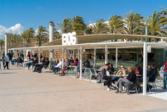 Sławny balneario żadny 6 na Mallorca wyspie Fotografia Stock