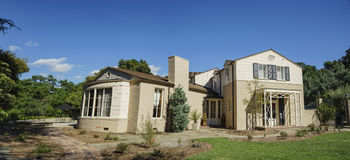 Sławny Boddy dom w Descanso ogródzie zdjęcia royalty free