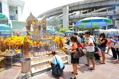 sławny brahma złoto najwięcej Thailand Obrazy Stock