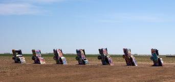 Sławny Cadillac rancho wzdłuż trasy 66 Obrazy Royalty Free