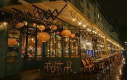 Sławny cukierniany Brebant na Grands bulwarach, Paryż, Francja fotografia royalty free