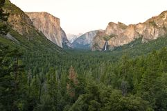 Sławny El Capitan zdjęcia stock