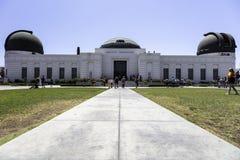 Sławny Griffith obserwatorium w Los Angeles obraz stock