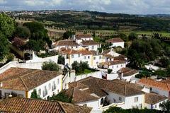 Sławny grodzki Obidos, Portugalia Obraz Stock