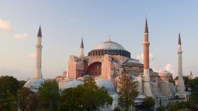 sławny hagia sophia Istanbul zdjęcie royalty free