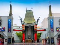 Sławny Hollywood Grumman Chiński Theatre Fotografia Royalty Free