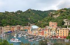 sławny Italy portofino świat zdjęcia royalty free