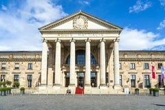 Sławny kasyno w Wiesbaden obrazy stock