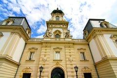 Sławny kasztel w Keszthely zdjęcie stock
