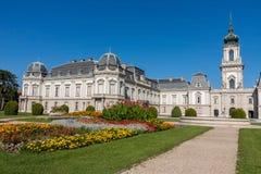 Sławny kasztel w Węgierskim grodzkim Keszthely, Grodowy Festetics fotografia royalty free