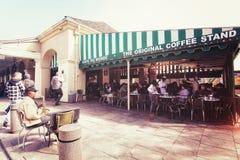 S?awny kawiarnia sklep zdjęcia stock